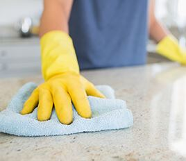 Cleaning Counter - Maid Service