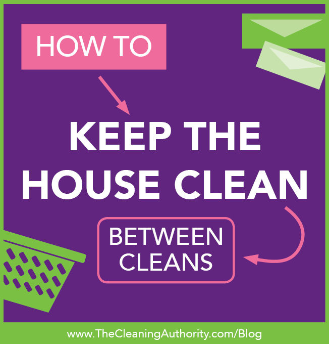 Keeping Your House Clean Between Cleans