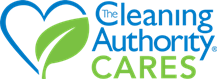 The Cleaning Authority Cares Logo