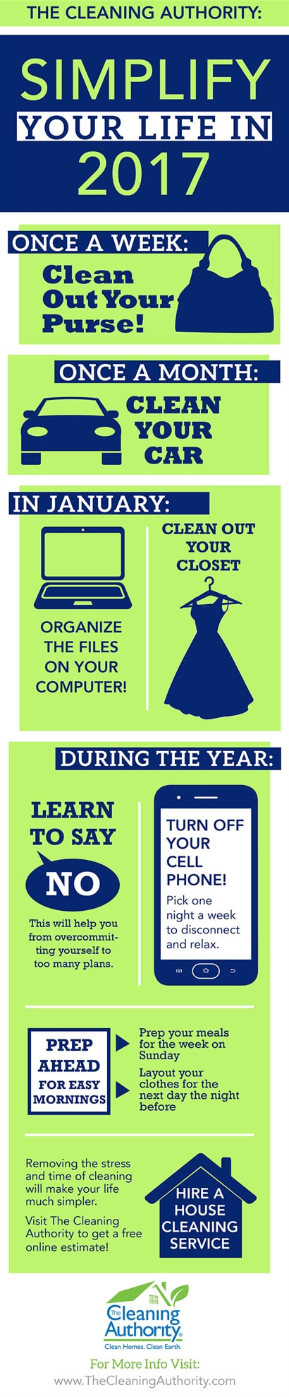 Infographic: Simplify Your Life in 2017