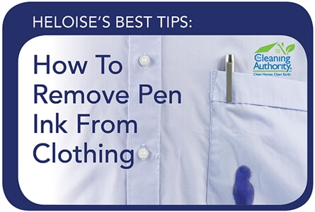 How To Remove Pen Ink From Clothing