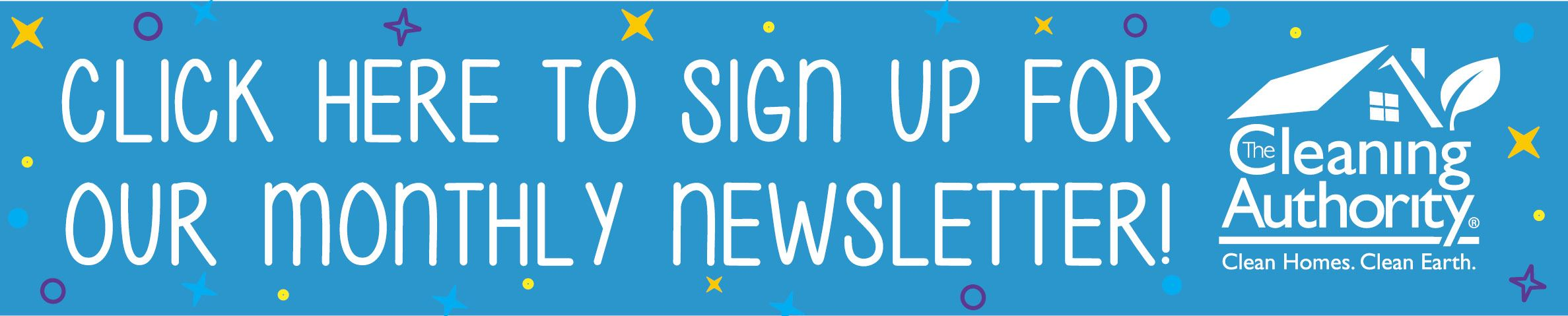 Sign up for monthly newsletter