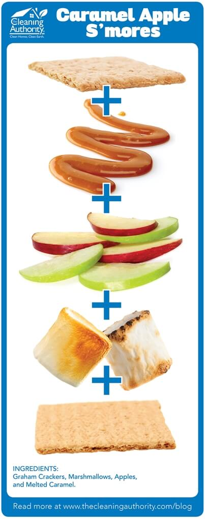 Caramel Apple S'mores Recipe