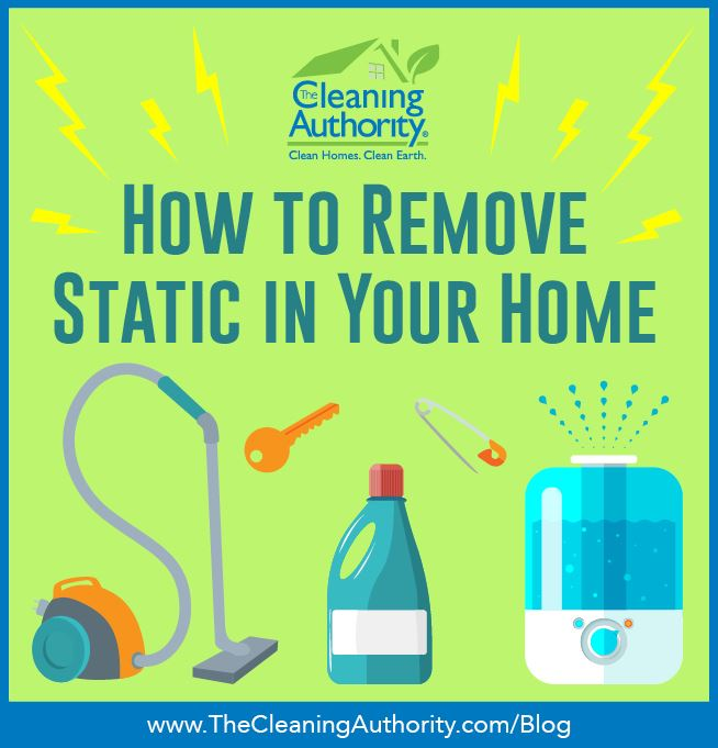 Remove static in the home