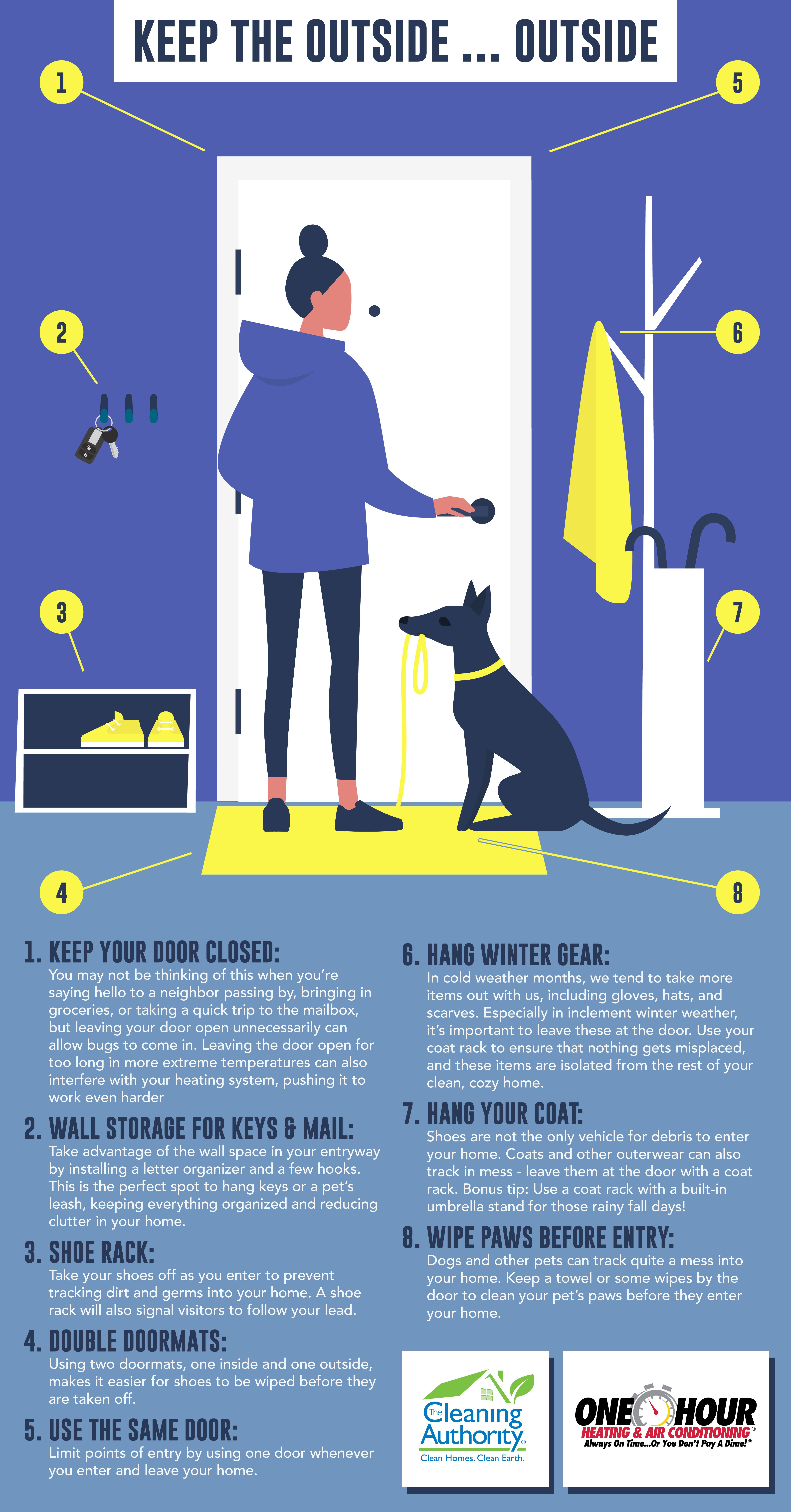 Keep Outside Out Checklist