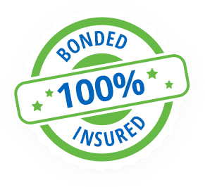 100% Bonded Insured