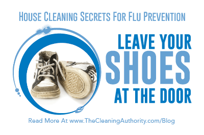 Flu Prevention: Leave Your Shoes At The Door
