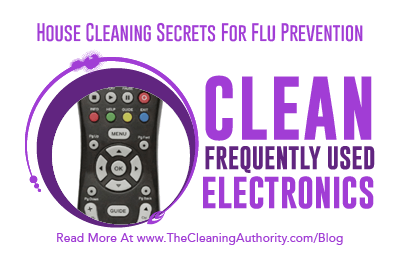 Flu Prevention: Clean Electronics
