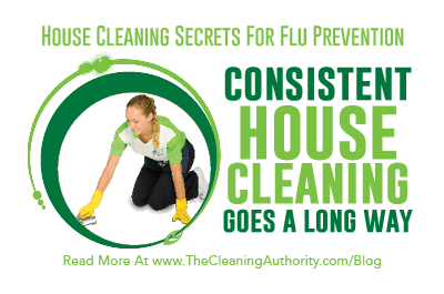 Flu Prevention: Consistent House Cleaning