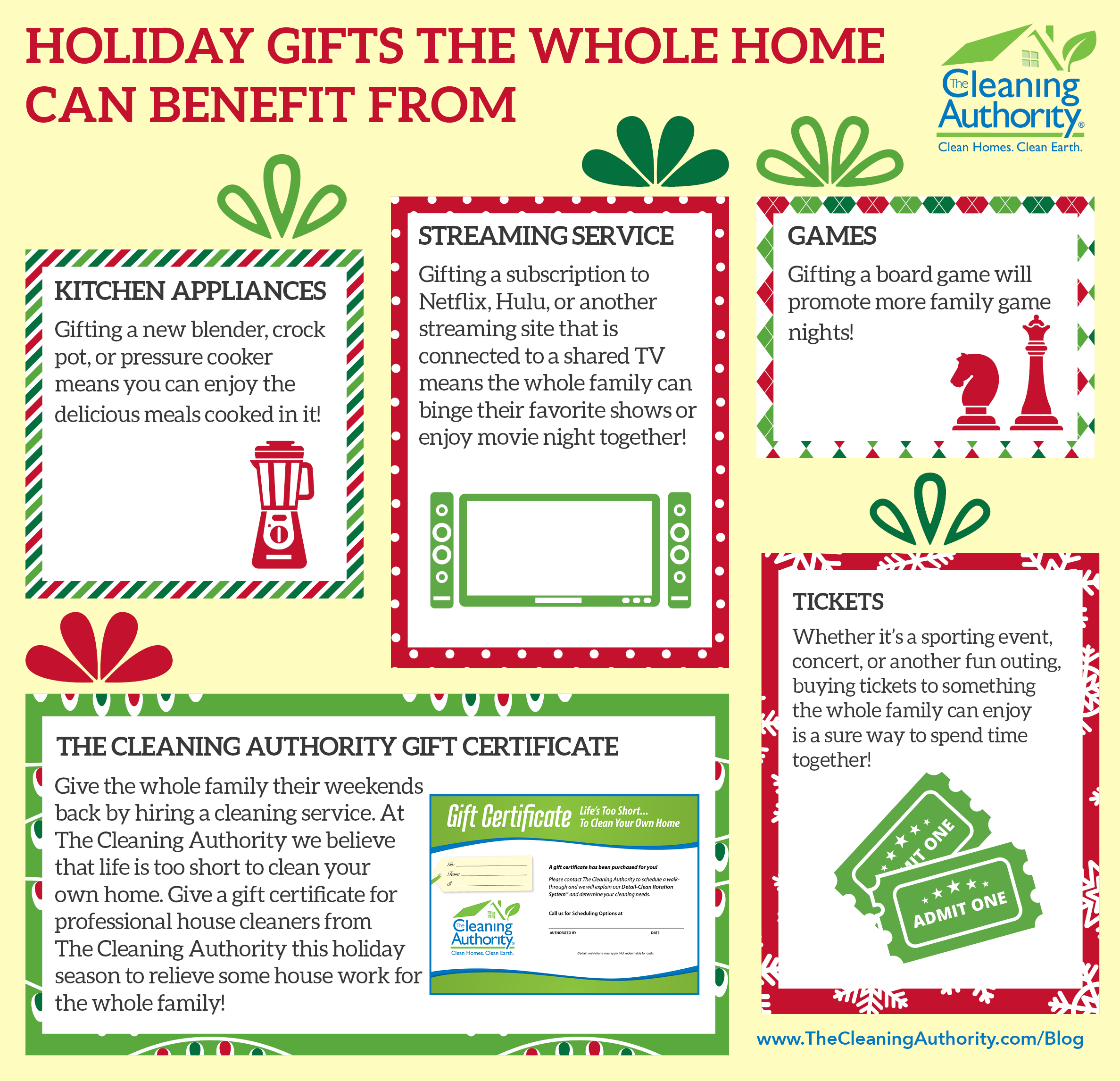 Holiday Gifts the Whole Home Can Benefit From infographic