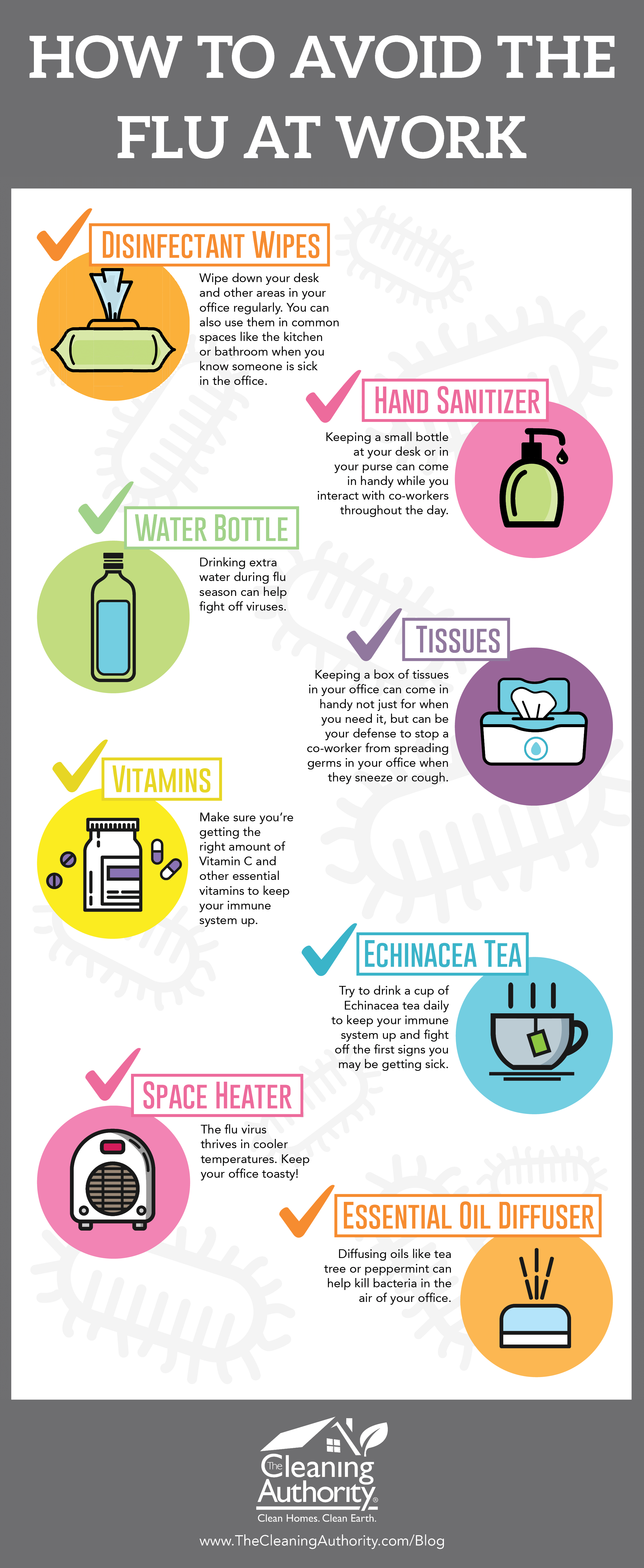 How to Avoid the Flu at Work