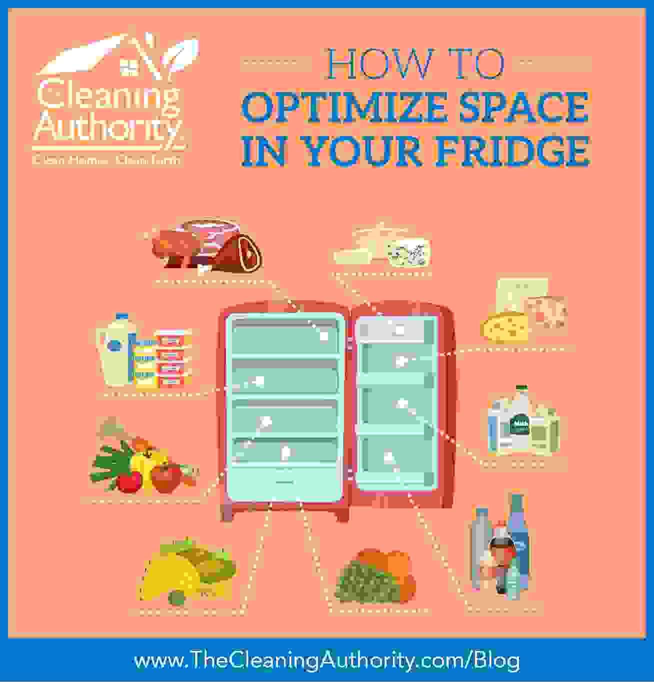 how to optimize fridge space