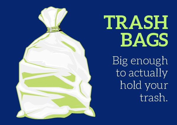 Infographic: Trash Bags