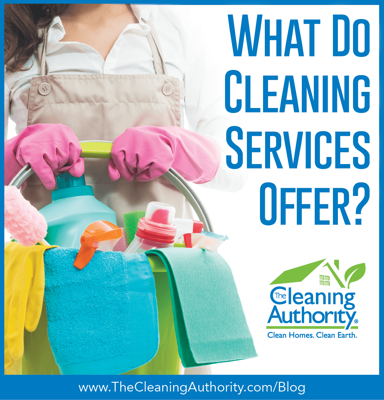What do cleaning services offer?