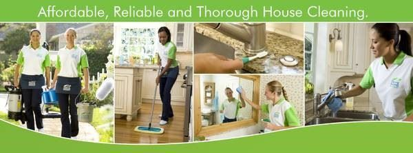 Affordable, Reliable and Thorough House Cleaning